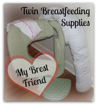 My Brest Friend Twin Breastfeeding Pillow