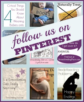 Follow BreastfeedingPlace.com boards on Pinterest!