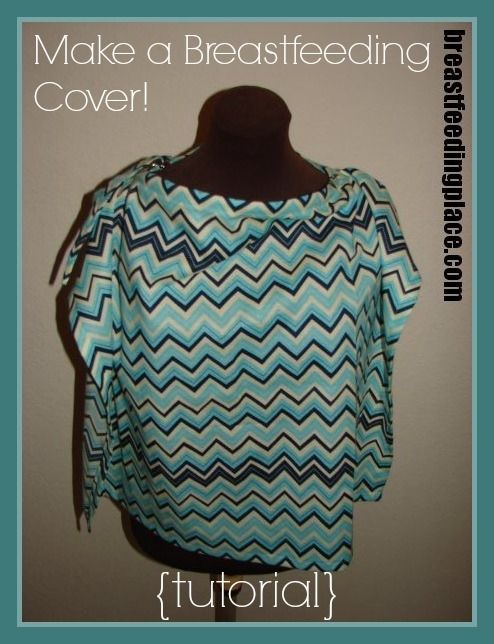 Learn How to Make Your Own Nursing Cover with this fantastic tutorial! #BreastfeedingPlace