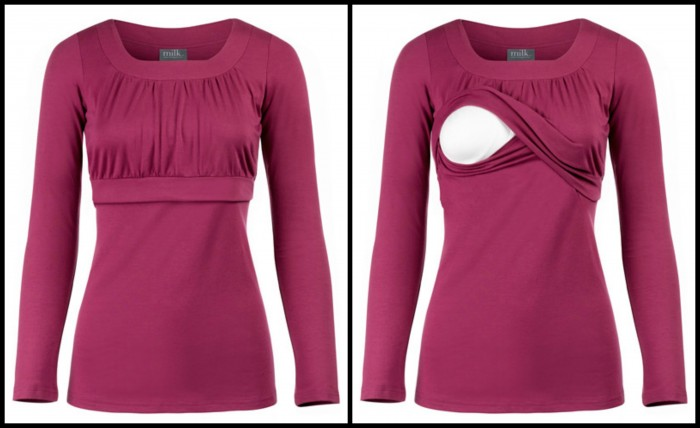 Empire Scoop    l    5 Practical & Stylish Breastfeeding Tops    l    www.BreastfeedingPlace.com #breastfeeding #nursing