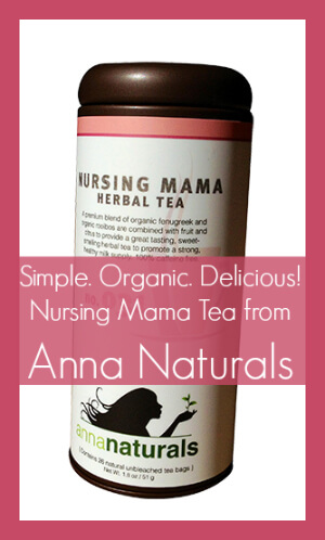 Nursing Mama Tea from Anna Naturals is AMAZINGLY DELICIOUS!