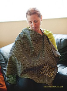 nursing cover tutorial a