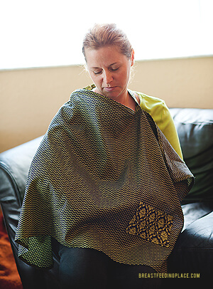 how to make a nursing cover